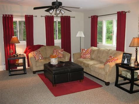 Red Curtain Ideas Curtains For Living Room Red Grommet Living Room Drapes Living Room, Living Simple Curtain Rod Brackets Curved Shower Rail Corner Bath How To Hang Rods Above Window Do I Measure For Ready Made Curtains Doorway What Size Need Latest Bedroom Designs Making A Padded Pelmet