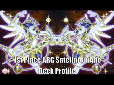yugioh 1st place satellarknight deck profile july 2014 arg
