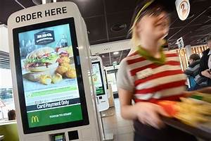 McDonald's in Mottram trials touch screen ordering and ...