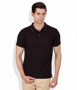 20% OFF on Giordano Black Polo Neck T Shirt on Snapdeal ...