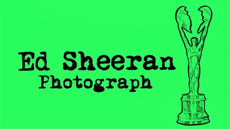 Ed Sheeran's New Song 'photograph' Is Coming... And The