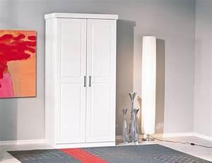 Kleiderschrank Mit Platz Für Fernseher : kleiderschrank hakon kiefer wei lackiert 2 t rig ~ Markanthonyermac.com Haus und Dekorationen