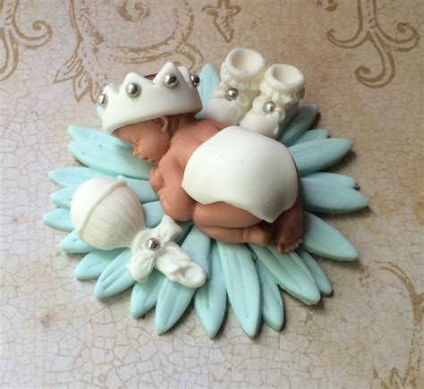 baby boy cake toppers baby boy baptism cake topper on luulla