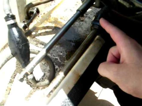 Boat Steering Cable Stuck In Tube by Help Please Outboard Steering Issue Merc 125 Pt 2
