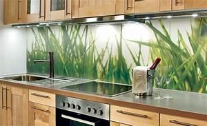 Glas Wandpaneele Küche : attraktive wohnideen wie man eine k chenr ckwand einbauen kann ~ Markanthonyermac.com Haus und Dekorationen