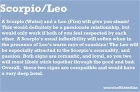 leo zodiacs scorpio on scorpio leo and zodiac