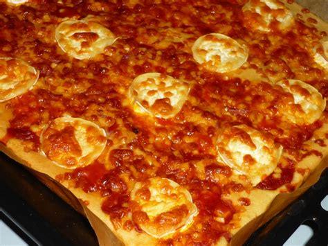 pizza avec pate bris 233 e recette
