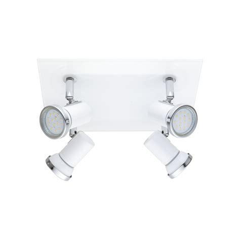 plafonnier 4 spots design plafonnier tamara luminaire sdb