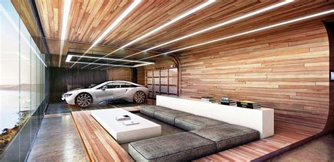 This Home's Garage Is In The Living Room And Bedroom