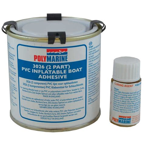 Inflatable Boat Adhesive by Polymarine Pvc Inflatable Boat Adhesive 2 Part 250ml 49