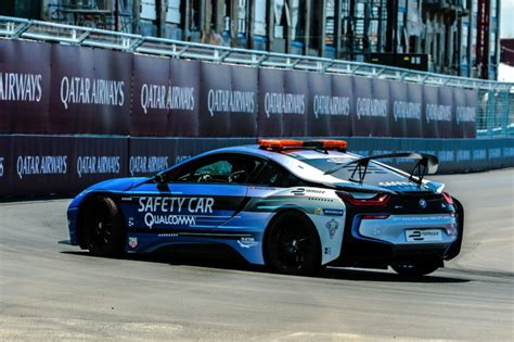 Bmw I8 Safety Car Gets A New Livery For The Eprix In New