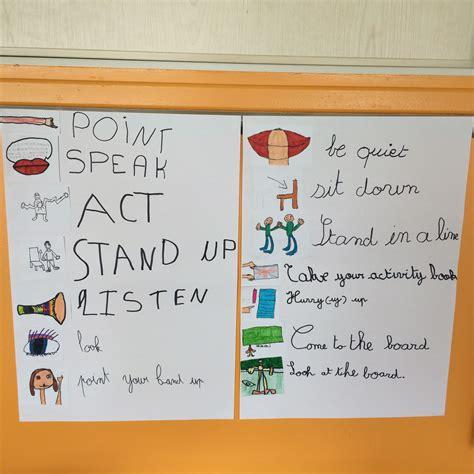 Consignes En Anglais « Ecole Primaire Publique La Veuve