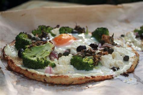 p 226 te 224 pizza au chou fleur chez becky et liz de cuisine anglaise