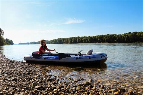 Inflatable Boat Material by Intex Excursion 5 The Best Affordable Inflatable Boat
