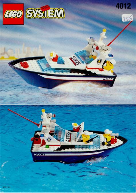 Lego City Police Boat Instructions by Lego Police Boat Instructions 4012 Boats