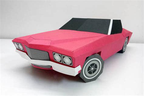 Diy Papercraft Car,paper Car,3d By Paperamaze On Zibbet