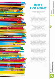 Pile Of Colourful Children Books Royalty Free Stock Images ...