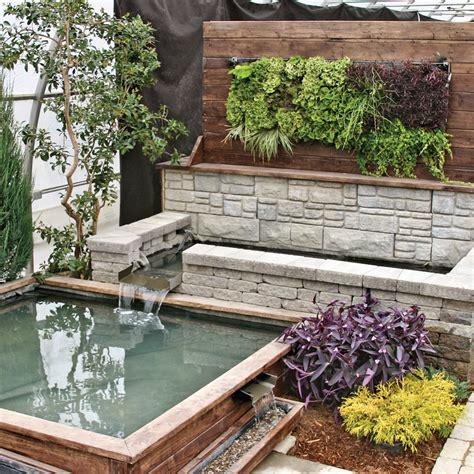 mur v 233 g 233 tal et jardin d eau cour inspirations jardinage et ext 233 rieur pratico pratique