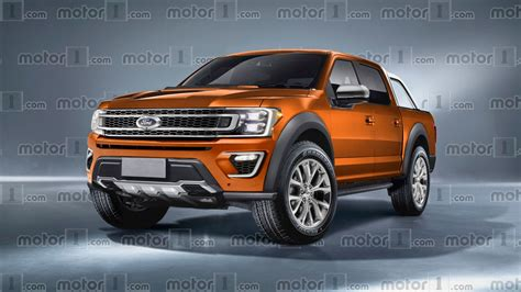 2019 ford ranger imagined as f 150 s