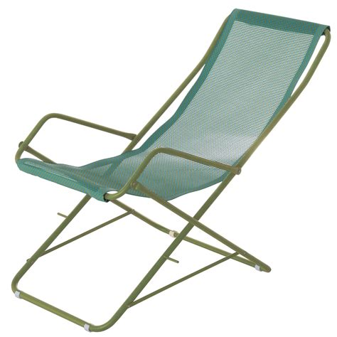 bahama reclining chair folding turquoise green