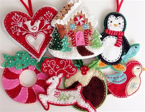 39 felt ornament crafts to trim the tree family net guide to