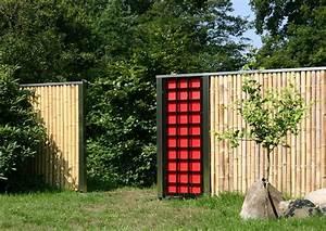 Bambus Edelstahl Sichtschutz : sichtschutz sichtschutzelemente aus bambus und edelstahl bambusrohre ~ Markanthonyermac.com Haus und Dekorationen