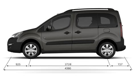 Peugeot Partner Tepee  Technical Data  Peugeot UK