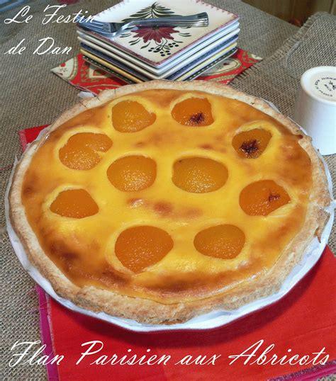 le festin de dan flan parisien aux abricots