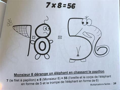 multiplications faciles pour apprendre les tables de multiplication en s amusant
