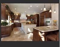 dark kitchen cabinets 52 Dark Kitchens with Dark Wood and Black Kitchen Cabinets