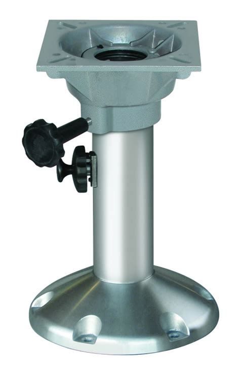 Long Boat Seat Pedestal by Wise Adjustable Height Locking Pedestal With Seat Mount