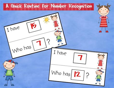 21 Best Images About Math  Number Recognition On Pinterest  Bingo, Number Line Activities And