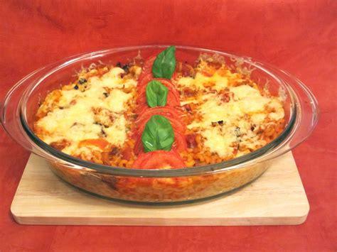 gratin de p 226 tes v 233 g 233 tarien aux c 232 pes et 224 la tomate diet