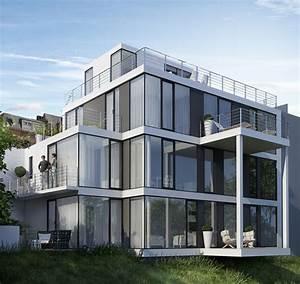 Architekten Augsburg Und Umgebung : berz architekten neubau eines einfamilienhauses berz architekten ~ Markanthonyermac.com Haus und Dekorationen
