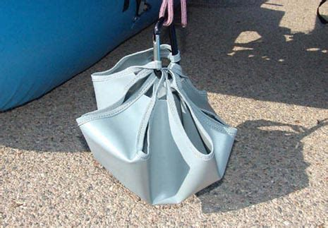 Inflatable Pontoon Boat Anchor System by The Creek Company Pontoon Boats Pontoon Boat