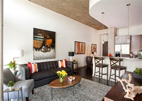 Fresh Ideas For Studio Apartment Furnished With Cool Layout