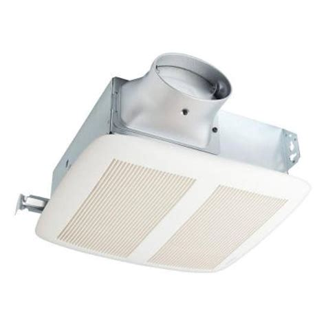 nutone loprofile 80 cfm ceiling wall exhaust bath fan with 4 in oval or 3 in duct