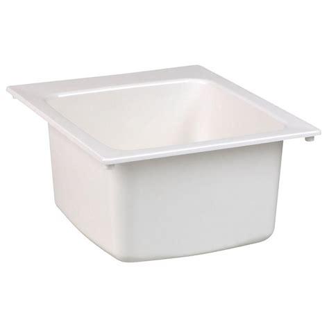 mustee 15 in x 15 in fiberglass self bar sink in white 202041460