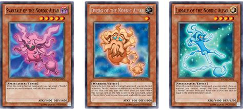 yu gi oh trading card 187 the nordic alfar