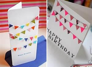 Basteln Mit Kindern 5 Geburtstag : geburtskarten gestalten 29 ideen zum nachbasteln ~ Whattoseeinmadrid.com Haus und Dekorationen