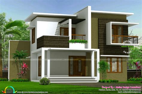 house plans and design contemporary house plans with contemporary box model home architecture kerala home