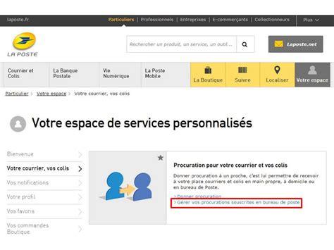 aide en ligne la poste