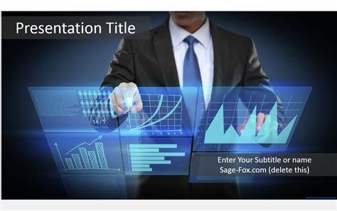 Free Business Technology Powerpoint Template #5865