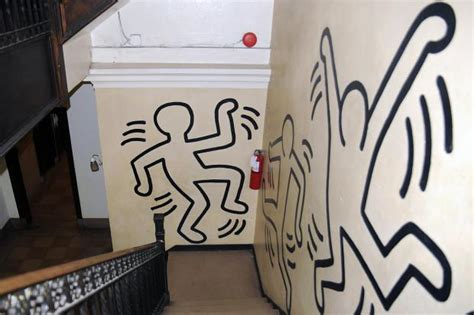 keith haring mural may be at risk as church to evict tenants morningside heights new