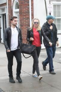 Tiffany Trump and Ross Mechanic out in leather jackets   Daily Mail Online