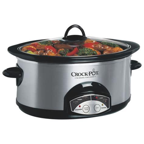 crock pot programmable cooker 6qt cookers best buy canada
