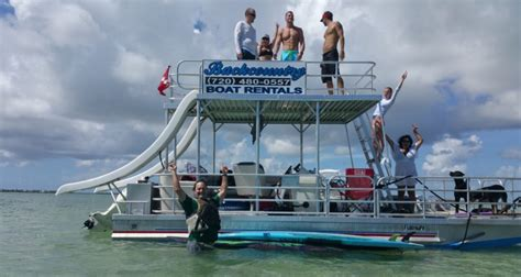 Pontoon Party Boat With Slide by Key West Guide To The Finest Places On The Island