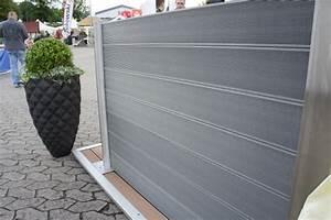 Terrassendielen Günstig Online : wpc sichtschutz zaun set alu 4 m wpc dielen zaun shop ~ Markanthonyermac.com Haus und Dekorationen