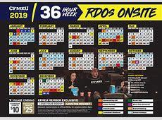 Calendar CFMEU Victoria & Tasmania