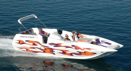 Party Cat Boat by Research 2013 Advantage Boats 27 Party Cat Zx On